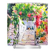 Stairway To Paradise Shower Curtain