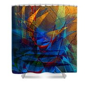 Stairway Upon Grail Passeges Shower Curtain