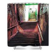 Stairwell Shower Curtain