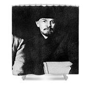Stalin, Lenin & Trotsky Shower Curtain by Granger