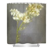Stalk Of Pearls Shower Curtain