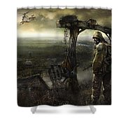 S.t.a.l.k.e.r. Shower Curtain