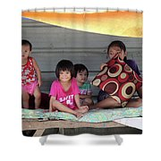 Stall Here Shower Curtain
