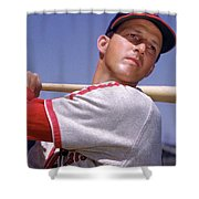 Stan Musial Shower Curtain