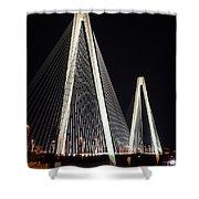 Stan Musial Veterans Bridge Shower Curtain