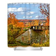 Stand By Me - Paint Shower Curtain