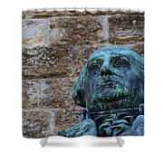 Stand Firm Shower Curtain