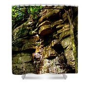 Stand In Amazement Shower Curtain