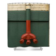 Stand Pipe Shower Curtain