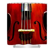 Stand Up Bass Shower Curtain
