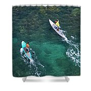 Stand Up Paddlers II Shower Curtain