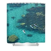 Stand Up Paddlers Shower Curtain