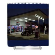 Standard Oil Museum After Dark 20 Shower Curtain