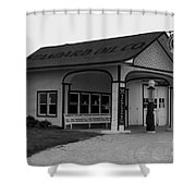 Standard Station No 4 Shower Curtain