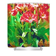 Standing At Attention Shower Curtain