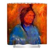 Standing Bear Shower Curtain
