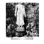 Standing Buddha Shower Curtain