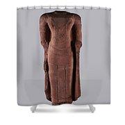 Standing Buddha Shower Curtain