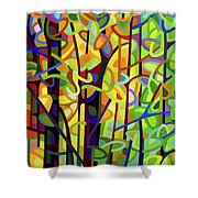 Standing Room Only - Crop Shower Curtain