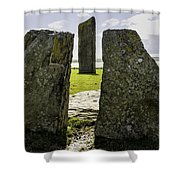 Standing Stones Of Stenness Shower Curtain