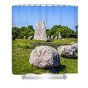 Standing Stones Shower Curtain