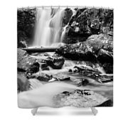 Standing Strong Vertical Shower Curtain