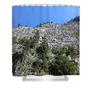 Standing Tall - The Bicaz Gorge Shower Curtain