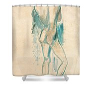 Standing Youth Shower Curtain