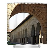 Stanford Memorial Court Arches I Shower Curtain