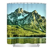 Stanley Lake Shower Curtain
