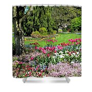 Stanley Park Garden Shower Curtain