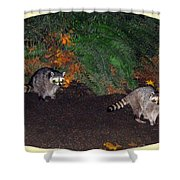Stanley Park Rascals Shower Curtain