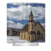 Stannard Church Shower Curtain