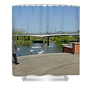 Stapenhill Gardens - A New Look Shower Curtain