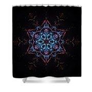 Star Birth Shower Curtain