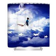 Star Boy Shower Curtain