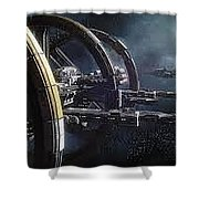 Star Citizen Enlistment - Join Free Today Shower Curtain