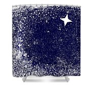 Star Cluster Shower Curtain