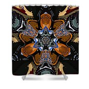 Star-crossed Lover Shower Curtain