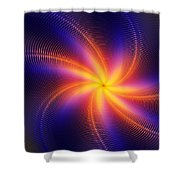Star Daze Shower Curtain
