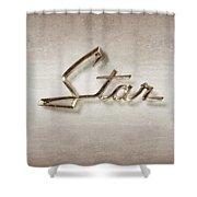 Star Emblem Shower Curtain