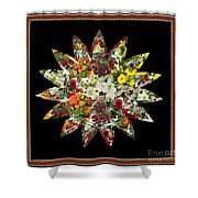Star Flower Bouquet Creation By Navinjoshi At Fineartamerica.om Graphics Art   Elegant Interior Deco Shower Curtain