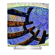 Star Gathering Shower Curtain