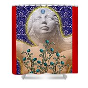 Star Goddess Shower Curtain