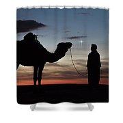 Star Of Bethlehem Shower Curtain