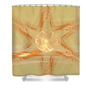Star Of New Beginnings Shower Curtain