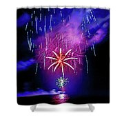 Star Of The Night Shower Curtain