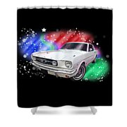 Star Of The Show - 66 Mustang Shower Curtain