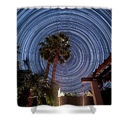 Star Party Shower Curtain
