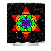 Star Seed Shower Curtain
